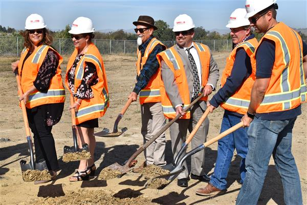 Mission Trails ROP hosts Ground Breaking Ceremony for new CTE & Public Health Laboratory building